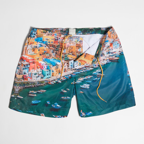 Reed Swim Shorts // Procida (S)