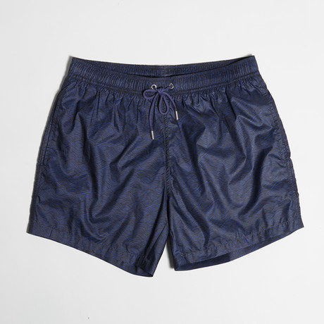 Carlos Swim Shorts // Ocean Blue (S)