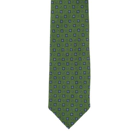 E. Formicola // Geometric Tie // Green