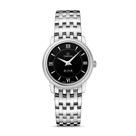 Omega Ladies De Ville Quartz // O42410276001001 // New