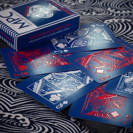 Impressions Playing Cards // Rising Sun + Aozora Edition