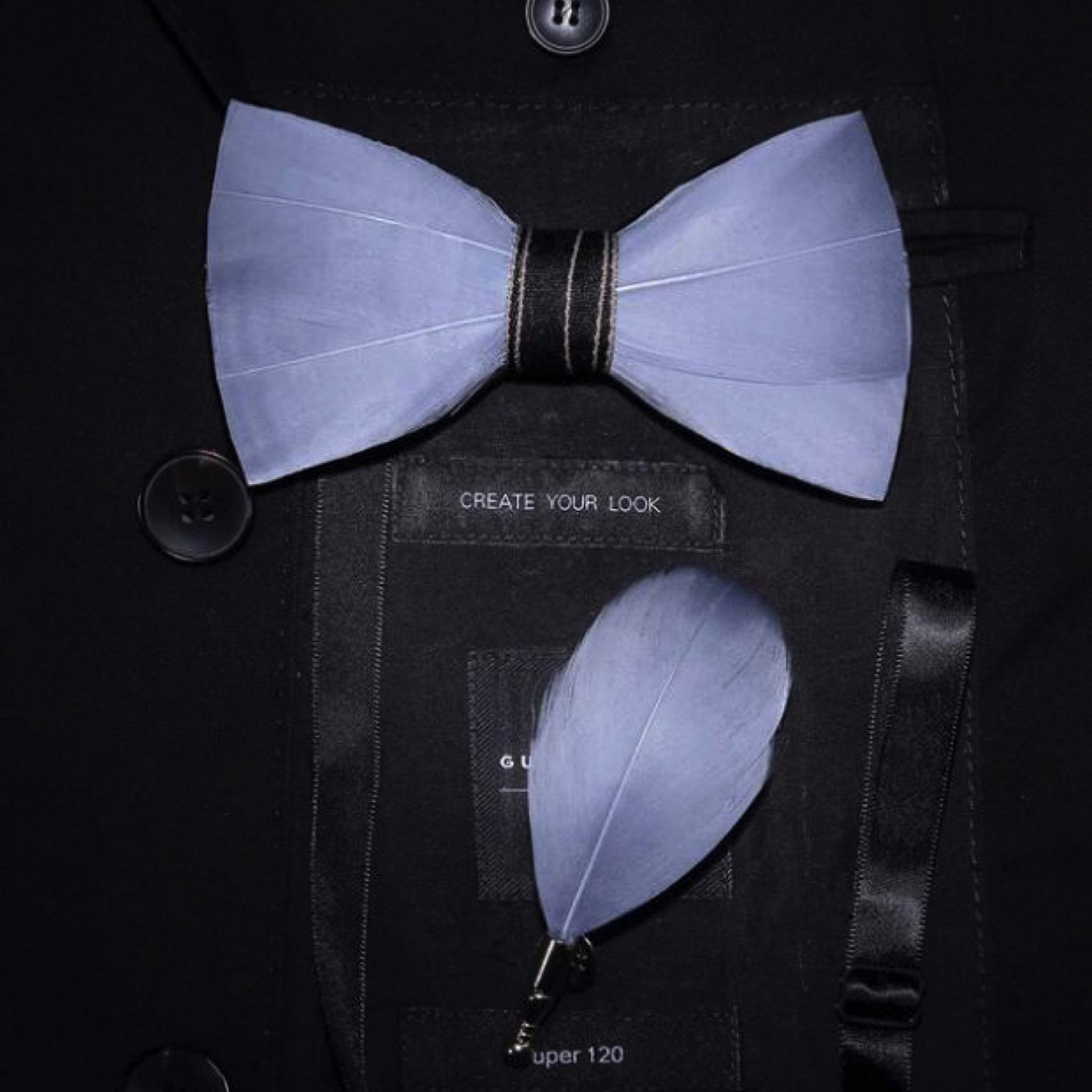 94c27645a3d3 Bow Tie // Light Gray - Fabliot by Le Chic Français - Touch of Modern