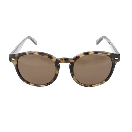 EZ0029-F 55M Sunglasses // Colored Havana