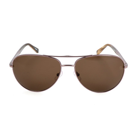 Ermenegildo Zegna // Men's EZ0035 Sunglasses // Shiny Light Bronze