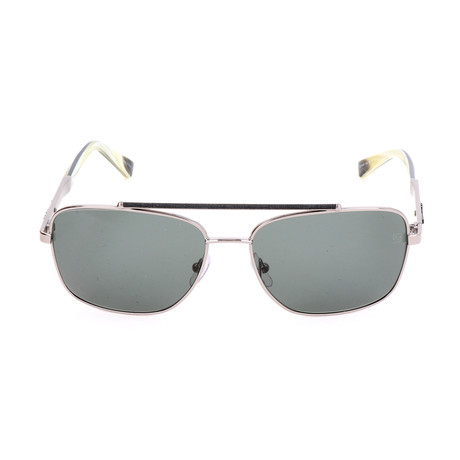 Ermenegildo Zegna // Men's EZ0036 Sunglasses // Shiny Light Ruthenium
