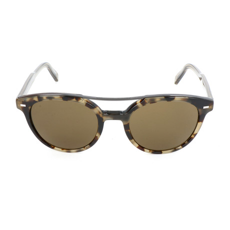 EZ0006 55J Sunglasses // Colored Havana