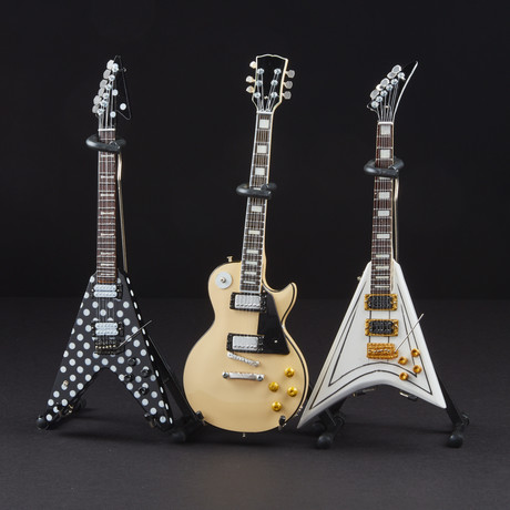 Randy Rhoads // Signature Mini Guitar Replicas // Set Of 3
