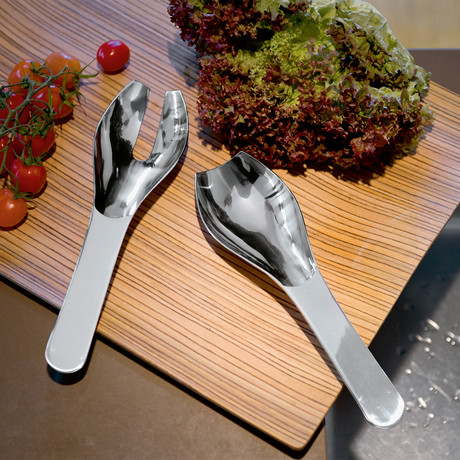 Ginoo Salad Server // 2 Piece Set