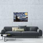 "The Starry Night // Vincent van Gogh (26""W x 18""H x 0.75""D)"