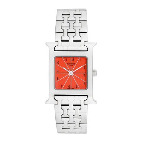 Hermes H Watch Quartz // HH1.210 // Pre-Owned