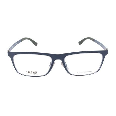 Men's 0862F-EAX Optical Frames // Matte Blue