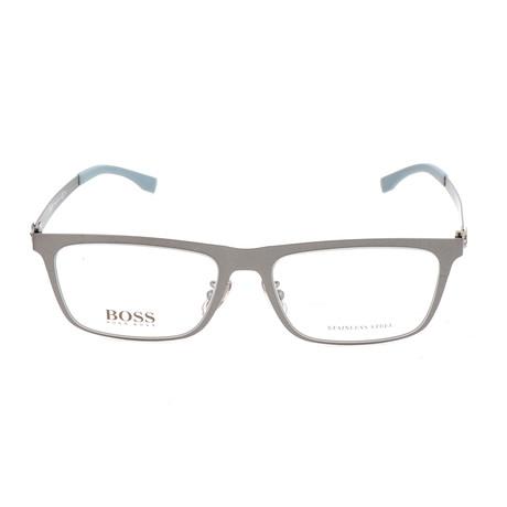 Men's 0862F-R80 Optical Frames // Dark Ruthenium Semi-Matte
