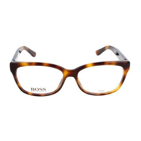 Women's 689-05L Optical Frames // Havana