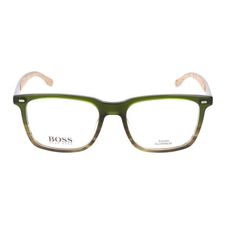 Men's 884-0R9 Optical Frames // Green Horn + Palladium
