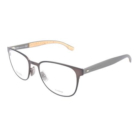 Men's 885-0S3 Optical Frames // Matte Brown + Dark Ruthenium