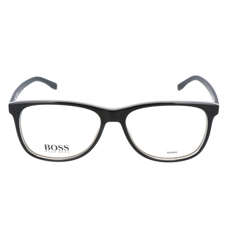 Men's 763-QHI Optical Frames // Black