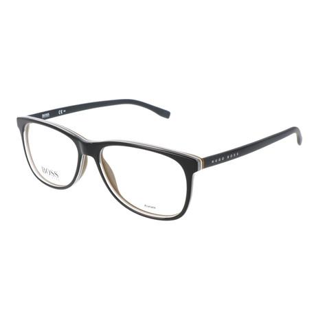 Men's 763-QHI Optical Frames // Black