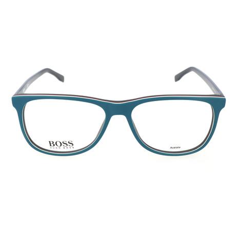 Men's 763-QHY Optical Frames // Petrol Blue