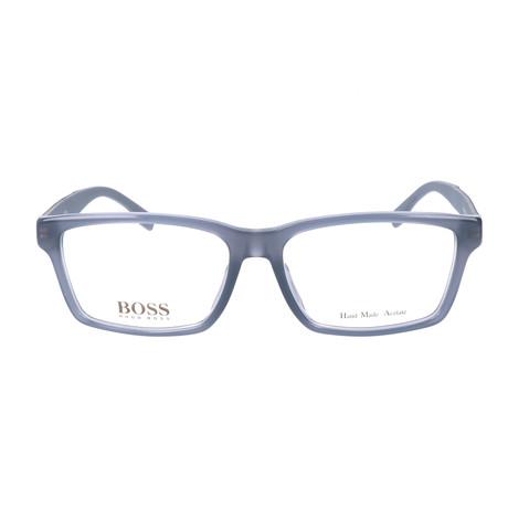Men's 0657F-HXH Optical Frames // Gray + Opal + Carbon