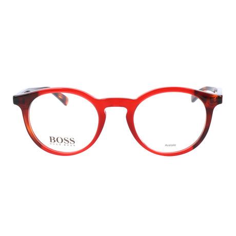 Women's 795-TAN Optical Frames // Burgundy Havana