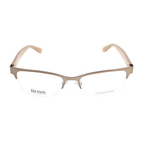 Women's 791-TBT Optical Frames // Matte Brown + Beige