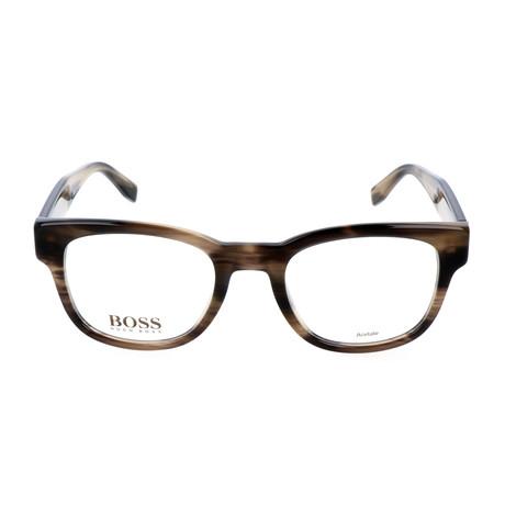 Men's 738-K93 Optical Frames // Dark Horn Mud