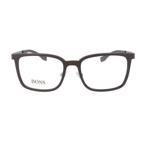 Men's 725-KDM Optical Frames // Matte Dark Brown Matte Dark Ruthenium