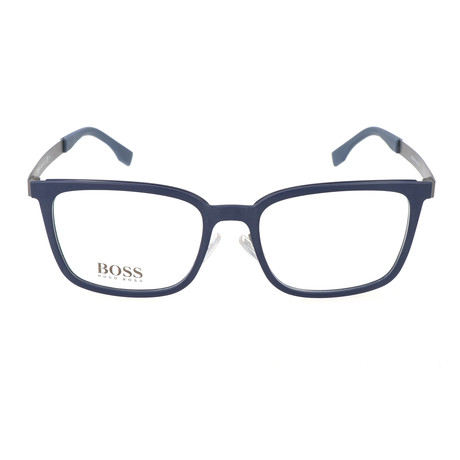 Men's 725-KDN Optical Frames // Solid Blue Ruthenium