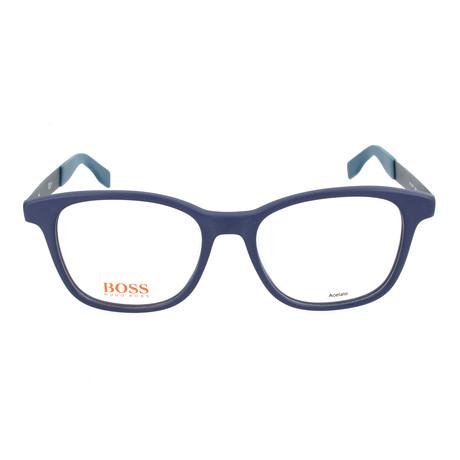Men's 0259F-QWK Optical Frames // Blue