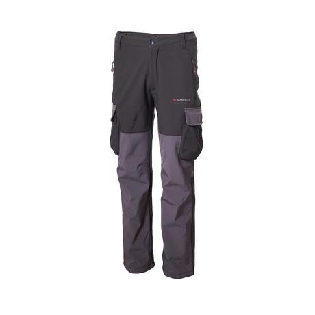 Two-Tone Cargo Pants // Black (S)