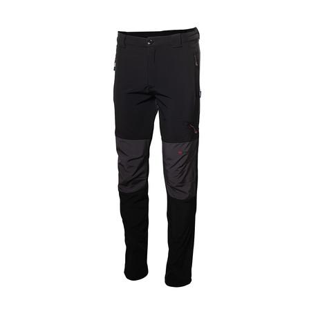 Dual-Tone Pants // Black (S)