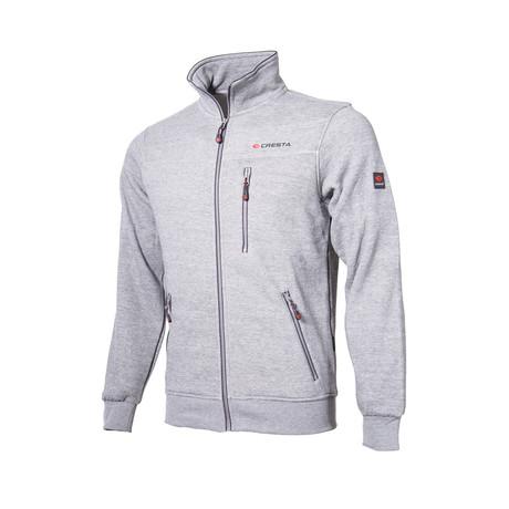 Zip-Up Jacket // Gray (S)