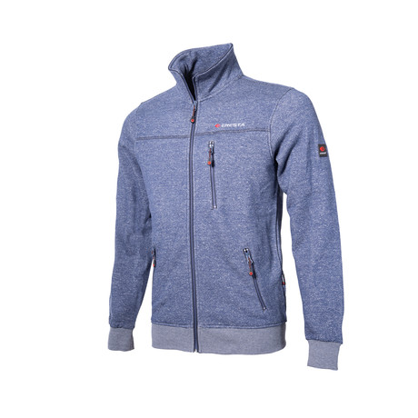 Zip-Up Jacket // Meanly Deep Blue (XS)