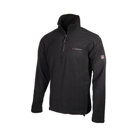 Quarter-Zip Jacket // Black (S)
