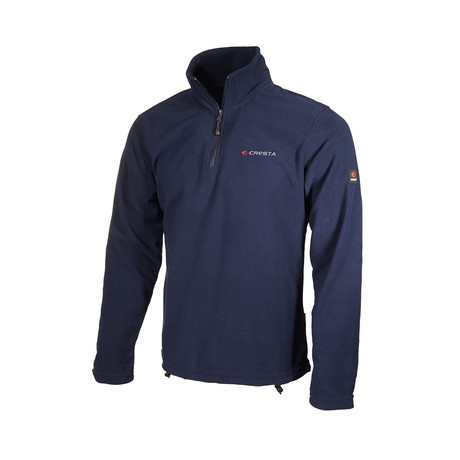 Quarter-Zip Jacket // Dark Blue (S)