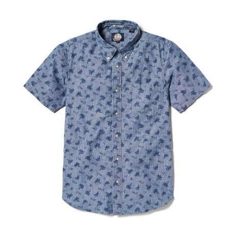 Floral Chambray Tailored // Chambray Blue (XS)