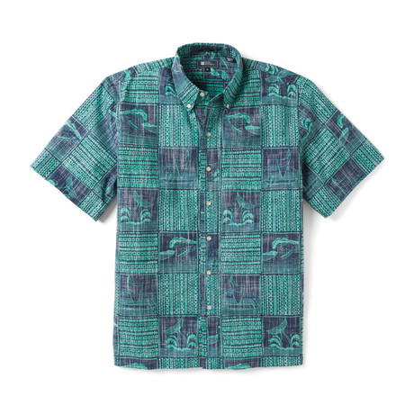 Ocean's Playground Button Front // Medieval Blue (XS)