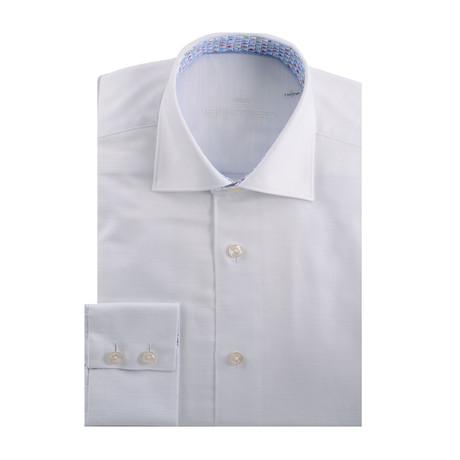 Dobby Long Sleeve Shirt // White (S)