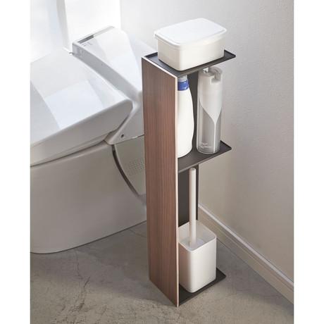Rin Toilet Organizer // Brown