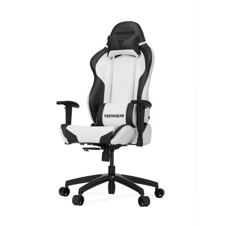 Racing Series S-Line SL2000 Gaming Chair // White + Black