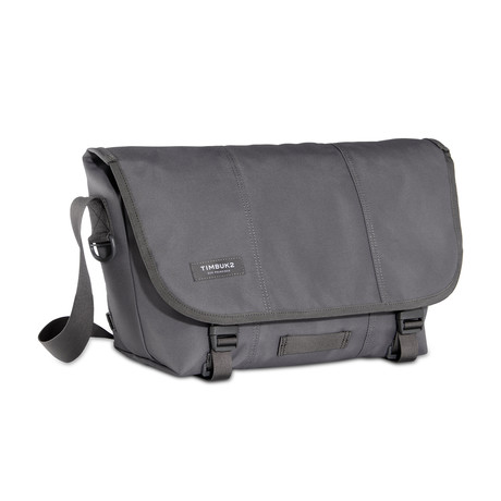 Classic Messenger // Gunmetal (Extra Small)