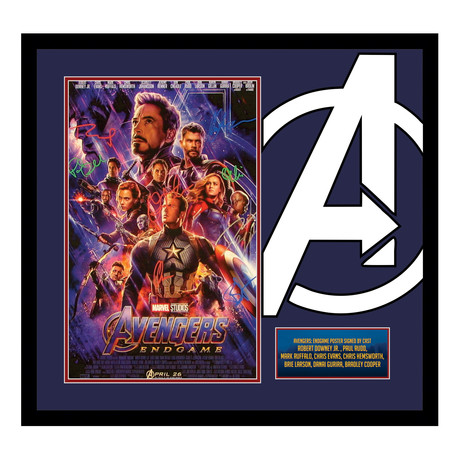 Avengers End Game Cast // Framed