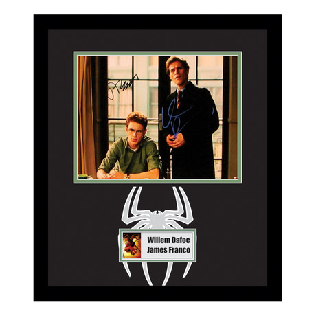James Franco + Willem Dafoe // Framed