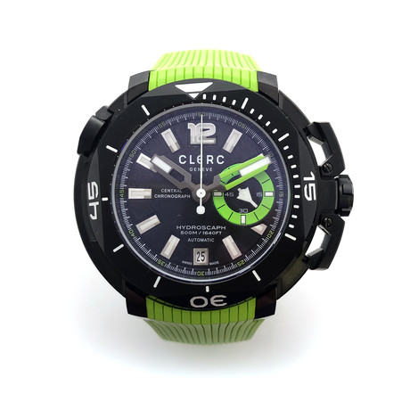 Clerc Hydroscaph Chronograph Automatic // CHYE-G // Store Display