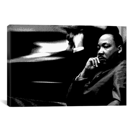 """Martin Luther King // Unknown Artist (18""""W x 12""""H x 0.75""""D)"""