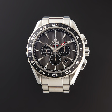 Omega Seamaster GMT Chronograph Automatic // 231.10.44.52.06.001 // Store Display