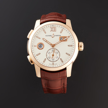 Ulysse Nardin Dual Time Automatic // 3346-126/90 // Store Display
