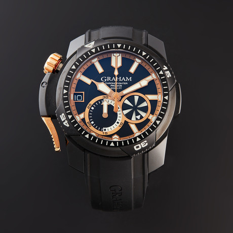 Graham Chronofighter Prodive Automatic // 2CDAZ.B04A.K80H // Store Display