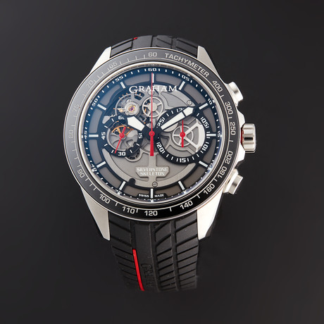 Graham Silverstone RS Skeleton Chronograph Automatic // 2STAC1.B01A.K89F // Store Display