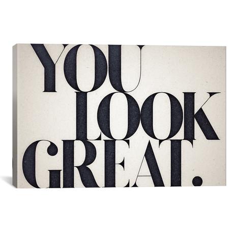 """You Look Great // 33 Broken Bones (26""""W x 18""""H x 0.75""""D)"""